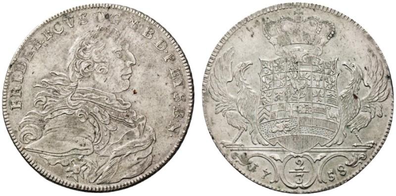 Brandenburg-bayreuth 1 Heller 1750 Friedrich Ii 1735-1763 Kleinmünzen & Teilstücke Münzen Altdeutschland Bis 1871