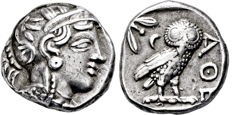 Coin Auction Griechische Münzen Griechisches Mutterland Attika