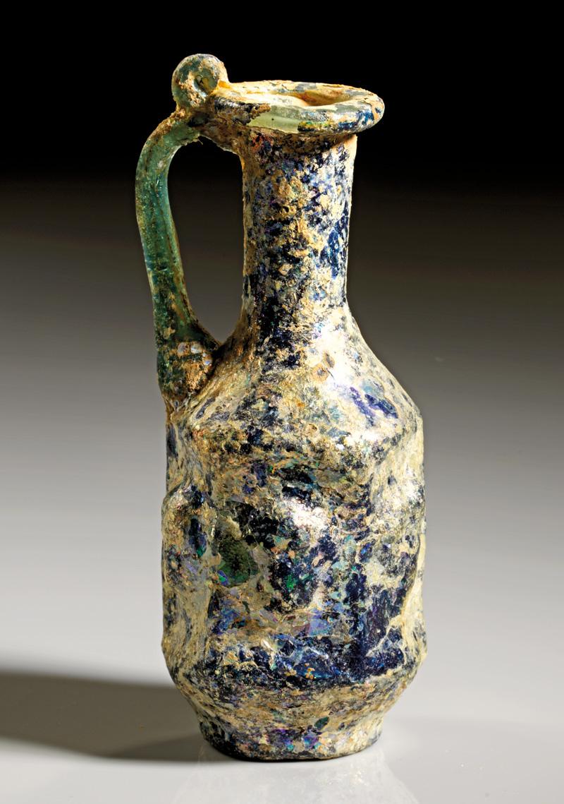 Lot 4 - objekte aus glas  -  Gerhard Hirsch Nachfolger Auktion 335 Antike Kunstobjekte