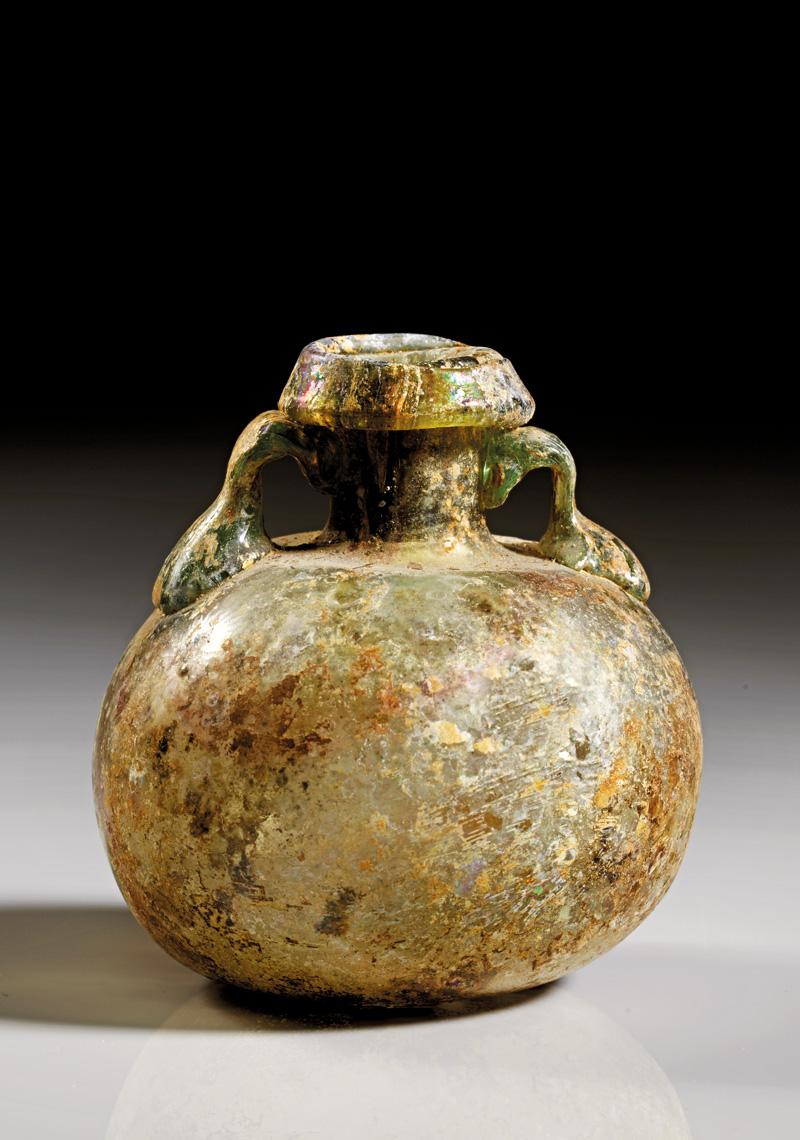 Lot 5 - objekte aus glas  -  Gerhard Hirsch Nachfolger Auktion 335 Antike Kunstobjekte