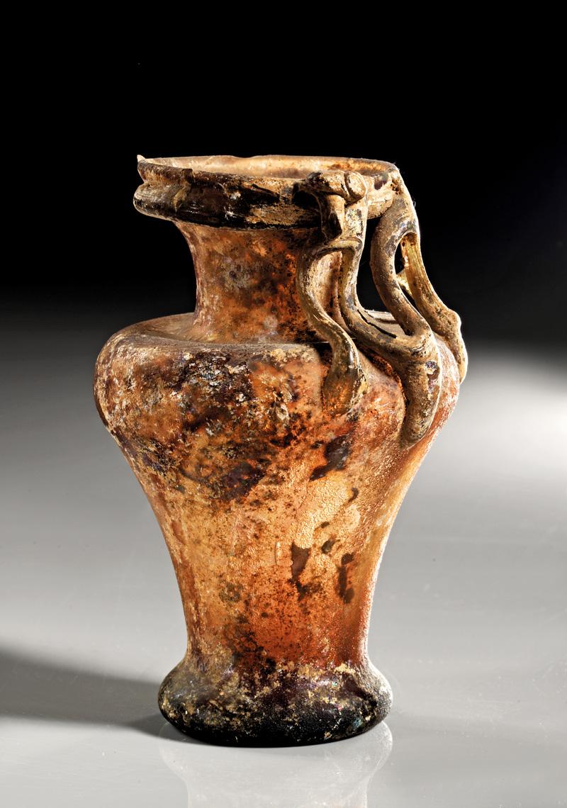 Lot 7 - objekte aus glas  -  Gerhard Hirsch Nachfolger Auktion 335 Antike Kunstobjekte