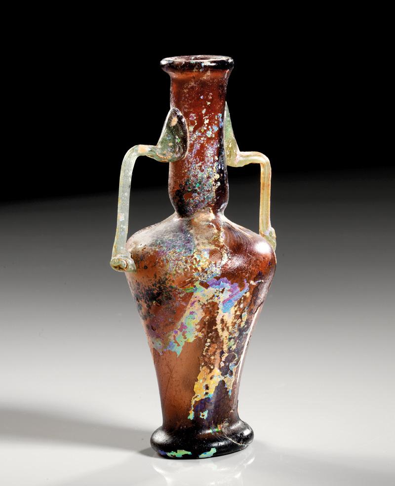 Lot 8 - objekte aus glas  -  Gerhard Hirsch Nachfolger Auktion 335 Antike Kunstobjekte