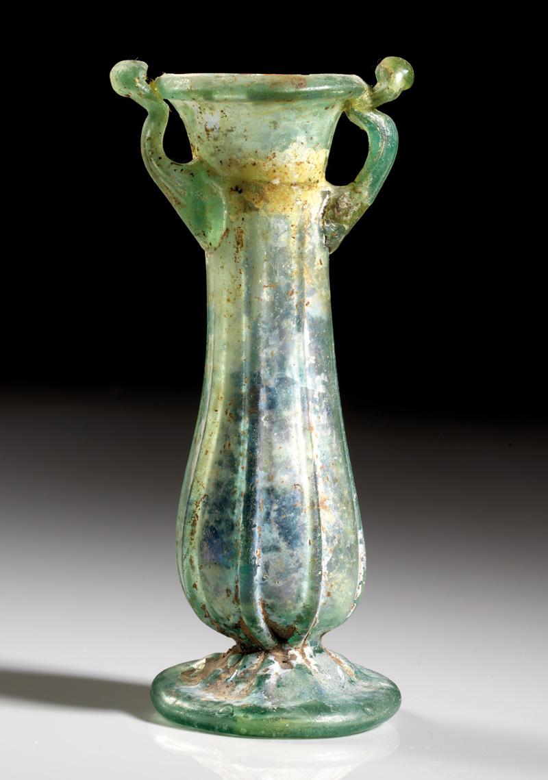 Lot 9 - objekte aus glas  -  Gerhard Hirsch Nachfolger Auktion 335 Antike Kunstobjekte