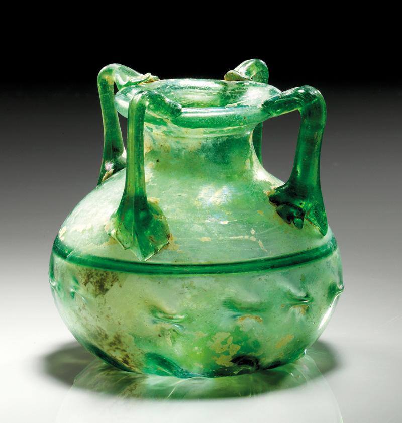 Lot 11 - objekte aus glas  -  Gerhard Hirsch Nachfolger Auktion 335 Antike Kunstobjekte