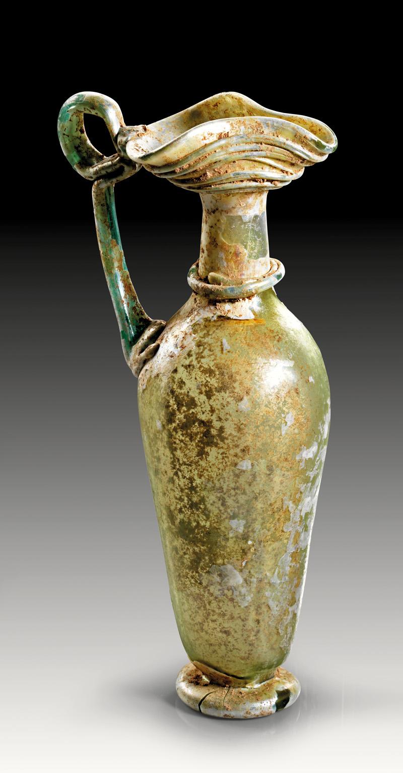 Lot 13 - objekte aus glas  -  Gerhard Hirsch Nachfolger Auktion 335 Antike Kunstobjekte