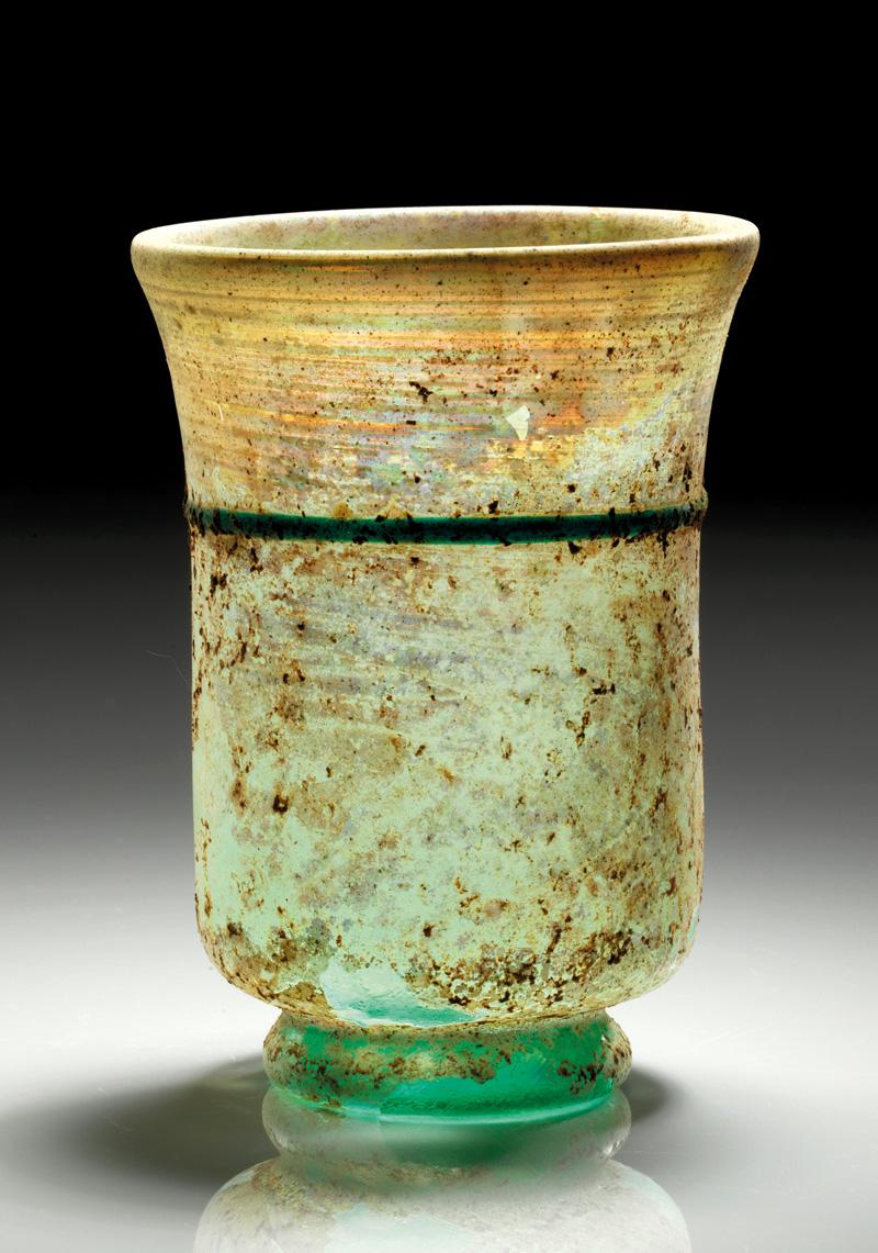 Lot 29 - objekte aus glas  -  Gerhard Hirsch Nachfolger Auktion 335 Antike Kunstobjekte