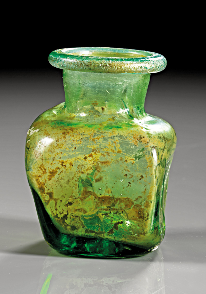 Lot 30 - objekte aus glas  -  Gerhard Hirsch Nachfolger Auktion 335 Antike Kunstobjekte