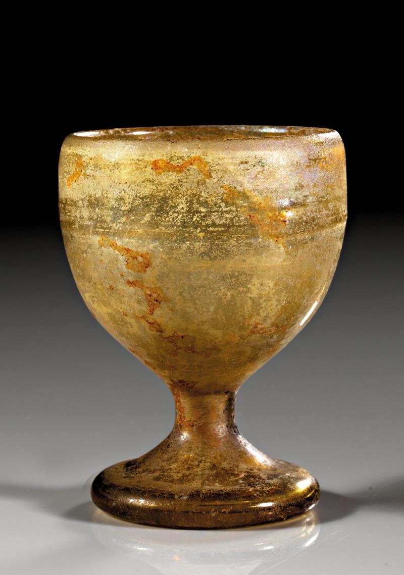 Lot 33 - objekte aus glas  -  Gerhard Hirsch Nachfolger Auktion 335 Antike Kunstobjekte