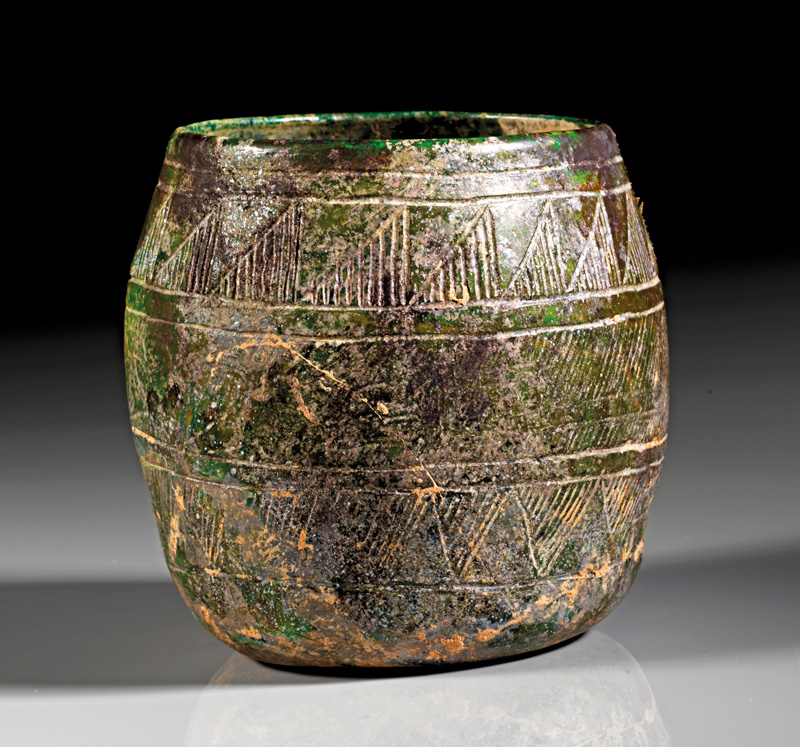 Lot 35 - objekte aus glas  -  Gerhard Hirsch Nachfolger Auktion 335 Antike Kunstobjekte