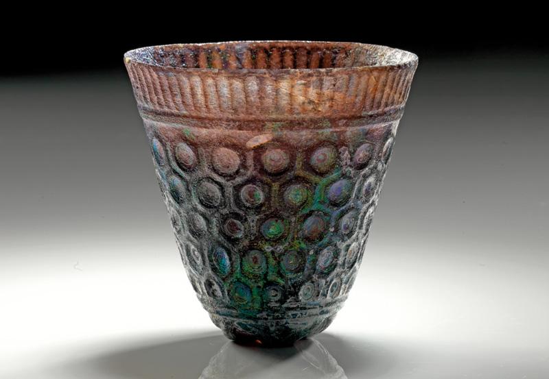 Lot 36 - objekte aus glas  -  Gerhard Hirsch Nachfolger Auktion 335 Antike Kunstobjekte