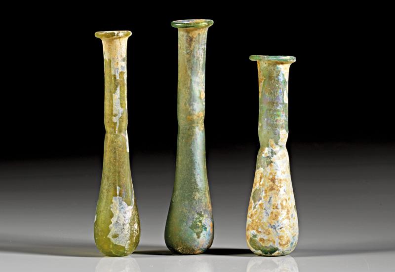 Lot 41 - objekte aus glas  -  Gerhard Hirsch Nachfolger Auktion 335 Antike Kunstobjekte