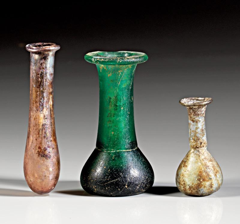 Lot 42 - objekte aus glas  -  Gerhard Hirsch Nachfolger Auktion 335 Antike Kunstobjekte