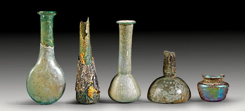 Lot 44 - objekte aus glas  -  Gerhard Hirsch Nachfolger Auktion 335 Antike Kunstobjekte