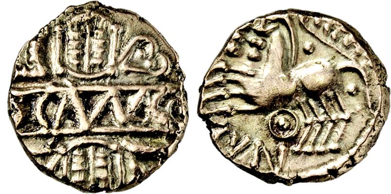 Lot 2002 - KELTEN, BRITANNIEN, CATUVELAUNI ET TRINOVANTES.  -  Gerhard Hirsch Nachfolger Auktion 336 Antike Münzen