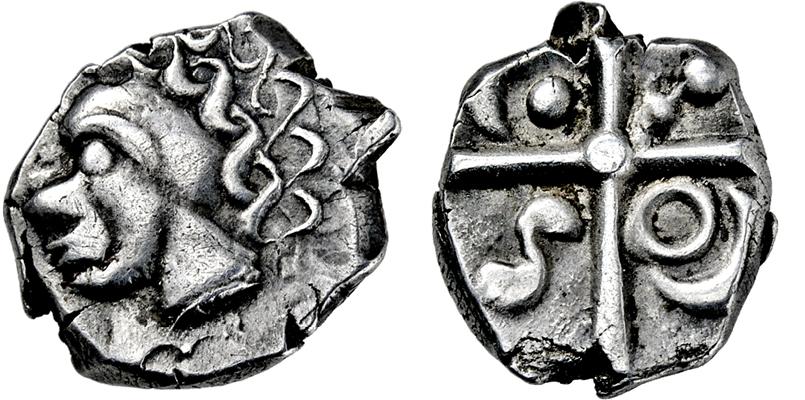 Lot 2004 - KELTEN, GALLIEN, UNBESTIMMTE STAMMESPRÄGUNG.  -  Gerhard Hirsch Nachfolger Auktion 336 Antike Münzen