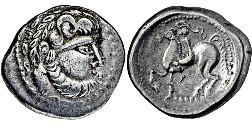 Lot 2008 - KELTEN, DONAUKELTEN, IMIT. D. TETRAD. PHILIPPOS II.  -  Gerhard Hirsch Nachfolger Auktion 336 Antike Münzen