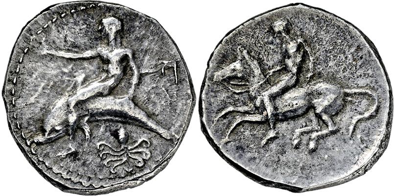 Lot 2021 - GRIECHISCHE MÜNZEN, ITALIEN, KALABRIEN, TARENT.  -  Gerhard Hirsch Nachfolger Auktion 336 Antike Münzen