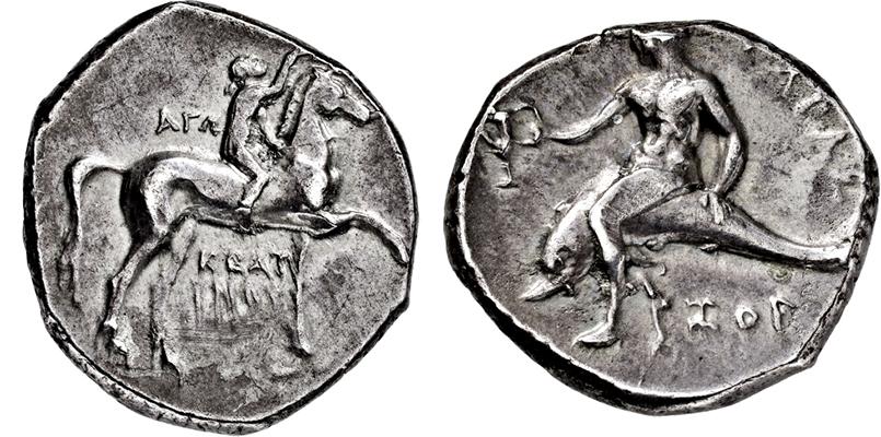 Lot 2022 - GRIECHISCHE MÜNZEN, ITALIEN, KALABRIEN, TARENT.  -  Gerhard Hirsch Nachfolger Auktion 336 Antike Münzen