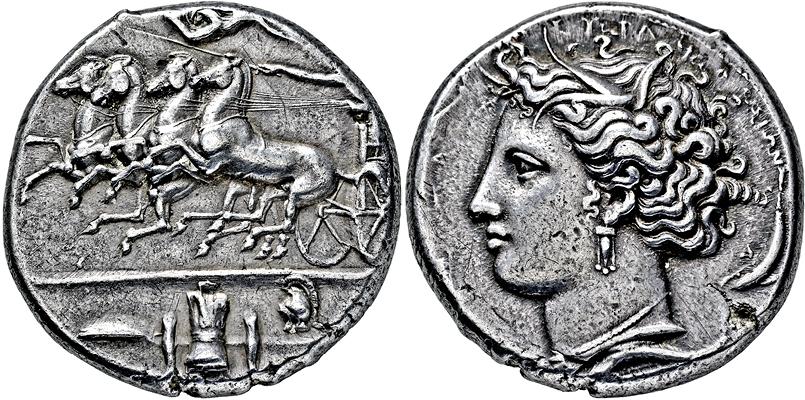 Coin Auction Griechische Münzen Sizilien Syrakus Auktion 336