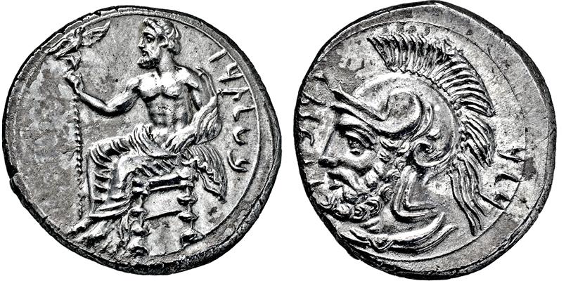 Lot 2222 - GRIECHISCHE MÜNZEN, ASIEN, KILIKIEN, TARSOS.  -  Gerhard Hirsch Nachfolger Auktion 336 Antike Münzen