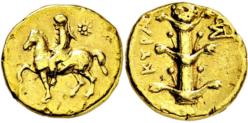 Lot 2298 - GRIECHISCHE MÜNZEN, AFRIKA, KYRENAIKA, KYRENE.  -  Gerhard Hirsch Nachfolger Auktion 336 Antike Münzen