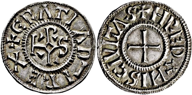 Lot 3007 - karolinger  -  Gerhard Hirsch Nachfolger Auktion 337 Münzen und Medaillen - Sammlung Bayern, Sammlung Judaica, u.a.