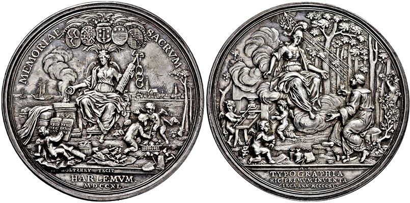 Lot 4436 - NIEDERLANDE-HAARLEM, STAD  -  Gerhard Hirsch Nachfolger Auktion 337 Münzen und Medaillen - Sammlung Bayern, Sammlung Judaica, u.a.
