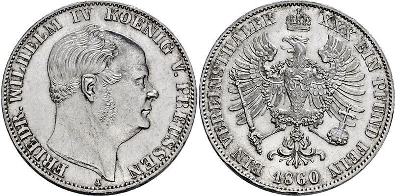 Lot 2364 - PREUSSEN, KÖNIGREICH  -  Gerhard Hirsch Nachfolger Auktion 339 - Münzen und Medaillen