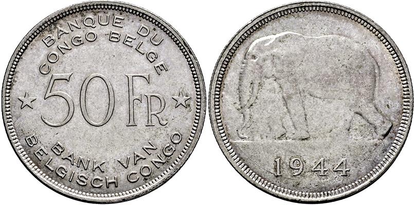Stamp Auction Belgisch Kongo Auktion 339 Münzen Und Medaillen